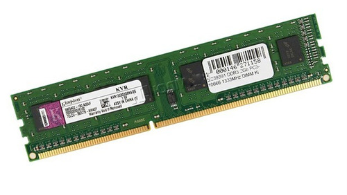 memorias ram kingston kvr667d2n5/2gb 1.8v. usado