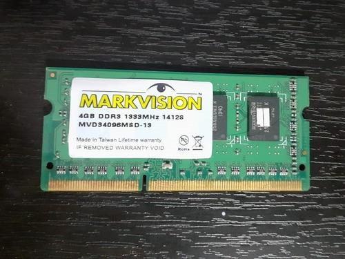 memorias ram para portátil 4gb ddr3