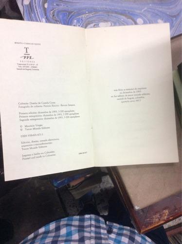 memorias secretas del revolcón -mauricio vargas-tm editores