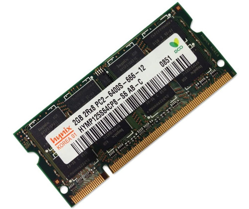 memorias sodimm ddr2 2gb pc2 6400 800mhz notebook! marcas.