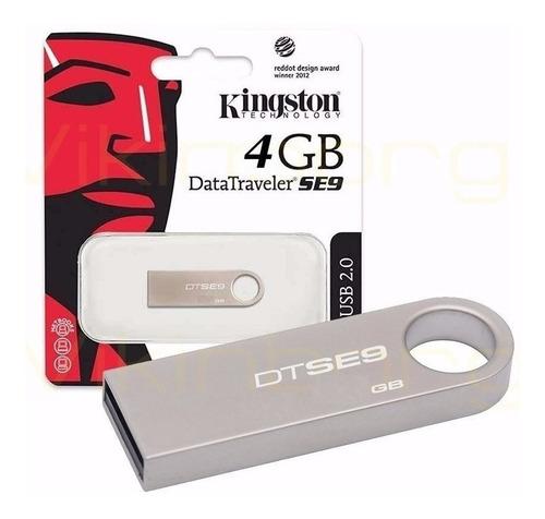 memorias usb 2.0 kingston 4gb