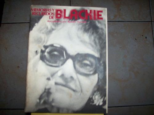 memorias y recuerdos de blackie- recopilados por horvath