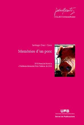 memories d'un porc(libro )