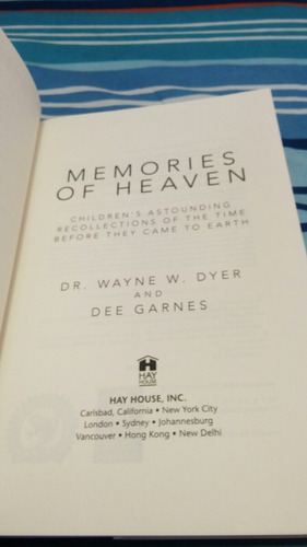 memories of heaven dr. wayne w. dyer [zar]