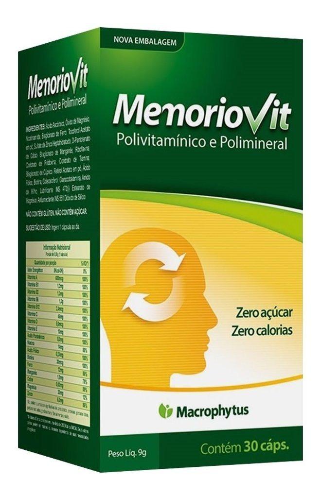 Memoriovit Polivitaminico 30 Cáps Macrophytus