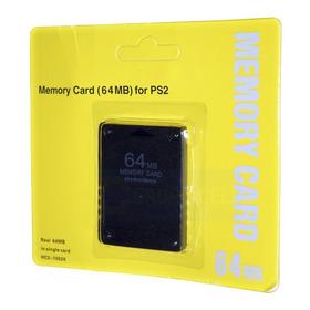 Memory Card  De 64 Mb Nueva  Para Ps2 En Igamers