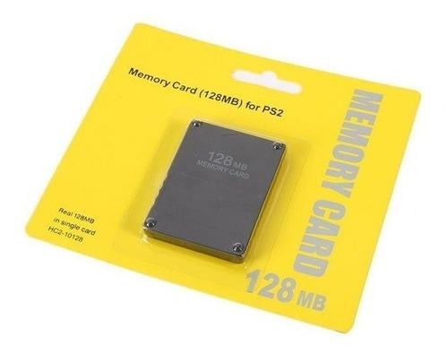 memory card 128mb playstation 2 sony ps2