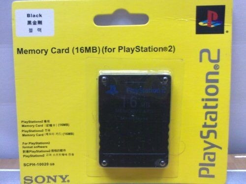 memory card 16mb ps2 lacrado novo
