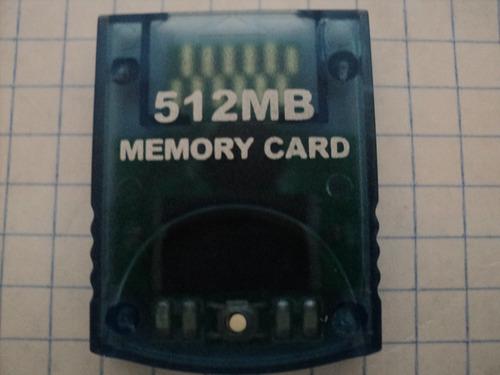 memory card 512 mb para nintendo wii o nintendo game cube