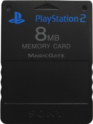 memory card 8mb magic gate playstation 2 sony stylemark