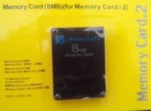 memory card 8mb playstation 2 ps2 two cartão memoria lacrado