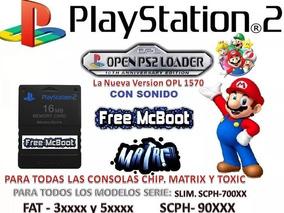Memory Card Con Free Mcboot  Nueva Version Opl 1570 Español