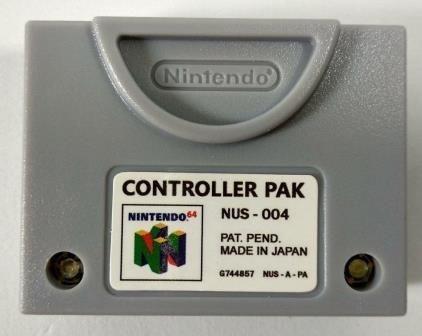 memory card - n64