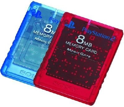 memory card original de 8mb colores  play2 *maxxigames10*
