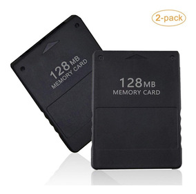Memory Card Play Station 2 De 128 Mb Con Free Mcboot Y Opl