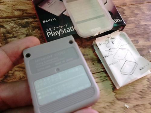 memory card playstation