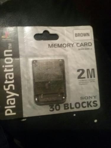 memory card playstation  sellada