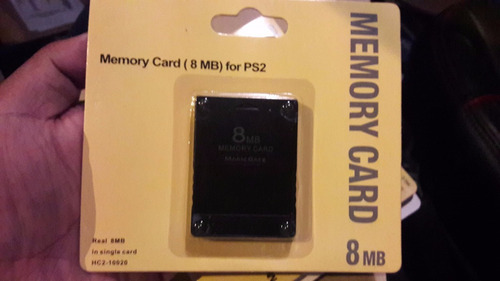 memory card ps2 play station