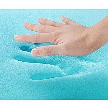 memory foam gel para almohada 40 x 60 x 7 cm sin funda