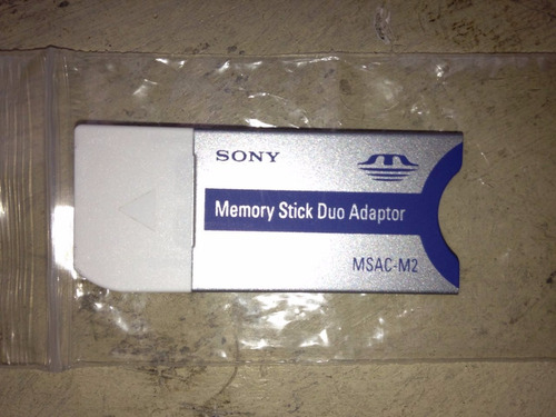 memory stick duo adaptor de sony original