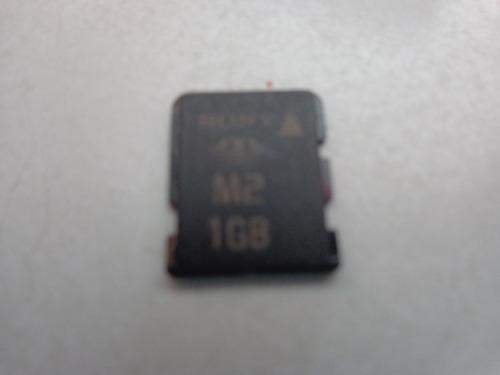 memory stick micro m2 1gb sony original novo!