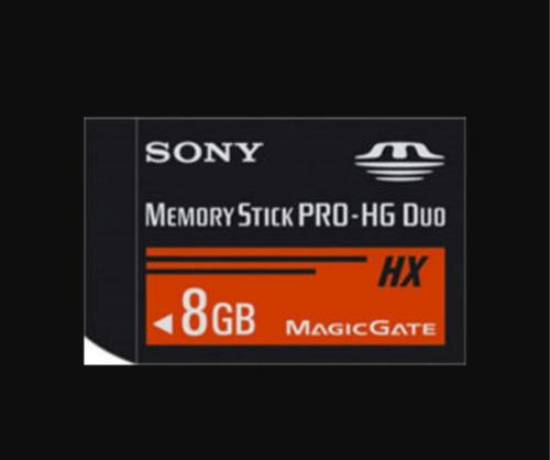 memory stick pro-hg duo   psp y camaras
