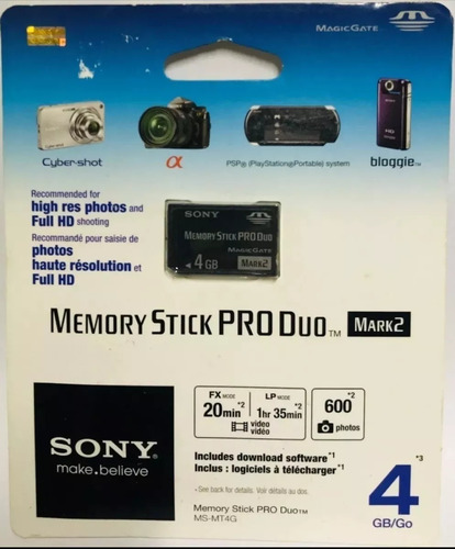 memory stick produo mark2 4gb