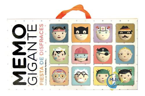 memotest juego de memoria gigante clap 24 piezas niños