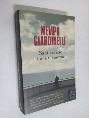 mempo giardinelli santo oficio de la memoria - novela