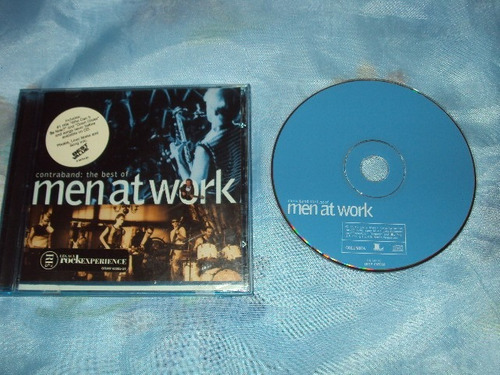 men at work contrabando the best cd importado