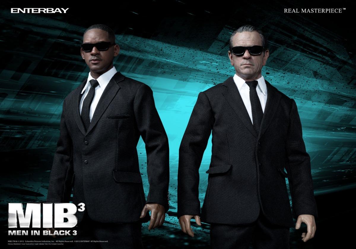 Men In Black Enterbay Escala 16 Mib Homens De Preto