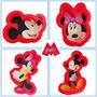 Set Moldes Cortadores Galletas Minnie Y Mickey