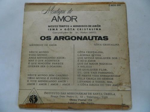mendigos de amor - novos tempos - compacto /ep 22.02