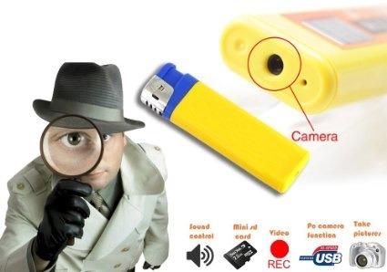 mendoza encendedor espía hd filma sonido fotos expand. 16gb