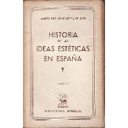 menendez y pelayo-historia de las ideas esteticas