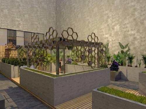 menessy the city departamento residencial en solidaridad