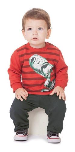 menino conjuntos roupa bebê