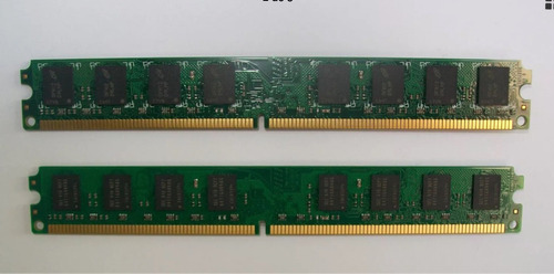 menorias kingston 2x2gb ddr2 800 (pc2 6400)