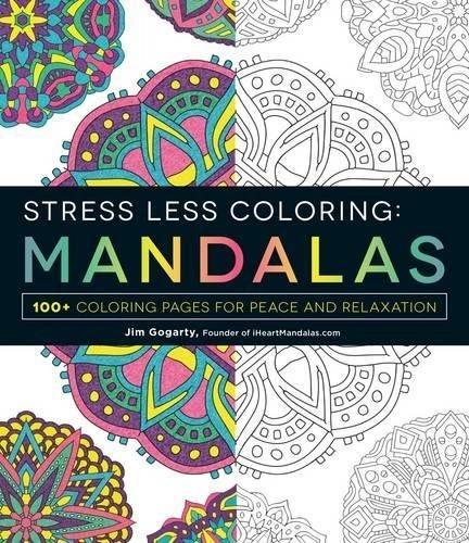Menos Colorante - Mandalas 100 Páginas Para Colorear Para L ...