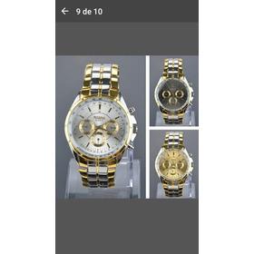Mens Stainless Steel Band Quartz Watch Wrist Watches