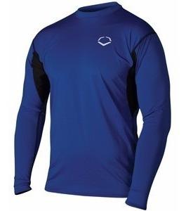 mens training long sleeve shirts talla m blue