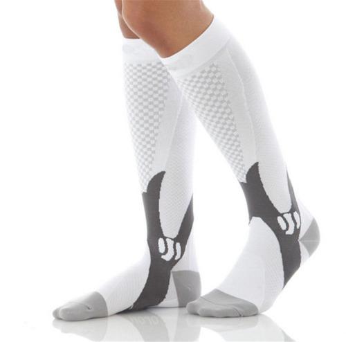 mens womens 30-40 mmhg compresión calcetines medias rodilla