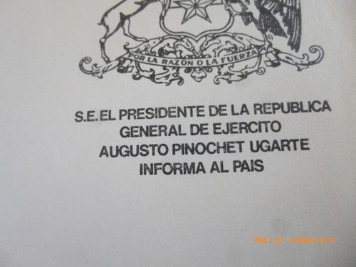 mensaje presidencial 11 sept -1979-1980 augusto pinc(806-1