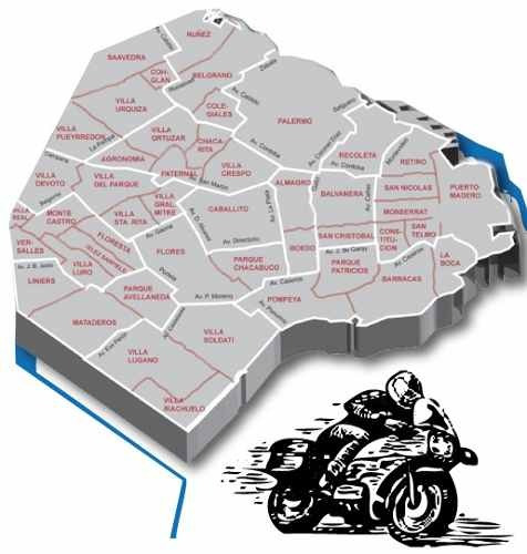mensajeria allways caballito servicio d moto merc envio flex