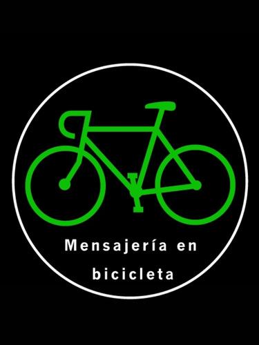 mensajería en bicicleta - cadetería - envíos solo en caba