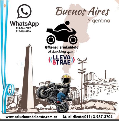 mensajeria en moto envios y distribución en capital y gba