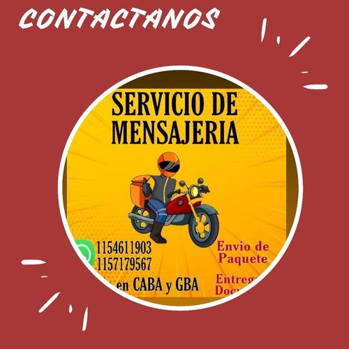 mensajería en moto habilitados en cuarentena