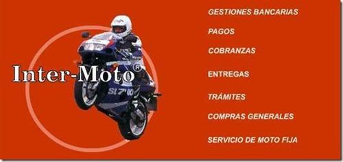 mensajeria en moto lanus 15% descuento 4267-3717