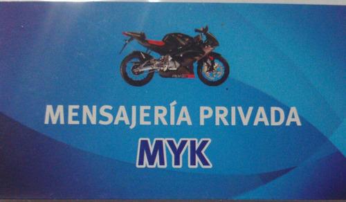 mensajeria en moto permiso circular las 24 hs.mercado flex
