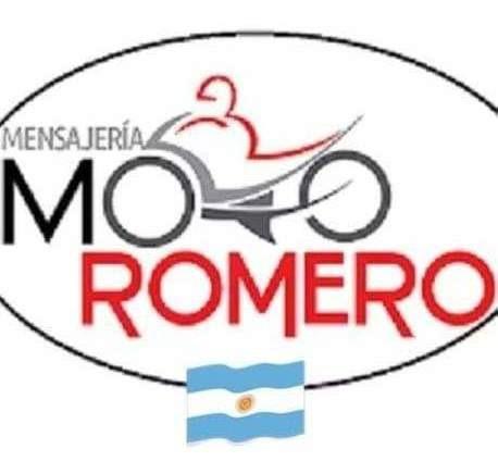 mensajería moto romero